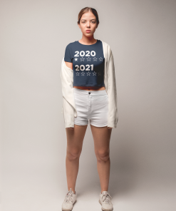 2020:2021 Star Rating Cropped Tee